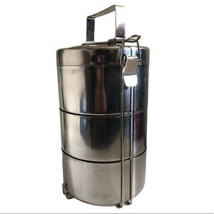 Stainless Steel Tiffin Food Warmer Lunch Box